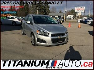 2015 Chevrolet Sonic LT+Camera+Heated Seats+BlueTooth+Remote Sta