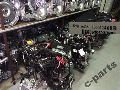 MOTOR MOTOREN MOTEUR ENGINE 1.5 DCI 110PS MERCEDES CITAN K9K 636 NUR 5 KM!!