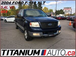 2004 Ford F-150 XLT+4X4+Trailer Hitch+AS-IS