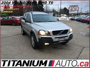 2004 Volvo XC90 All Wheel Drive+T6+Keyless+Sunroof+DVD+AS-IS++++