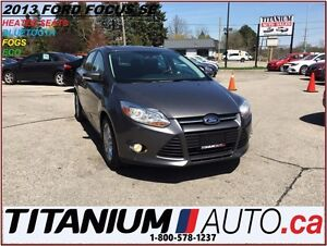 2013 Ford Focus SE+Bluetooth+Heated Seats+Apperance Package+Fog