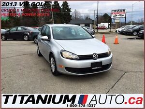 2013 Volkswagen Golf 2.5L+Heated Power Seats+Traction & Cruise C