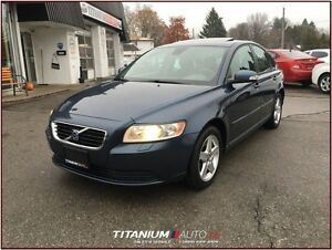 2008 Volvo S40 Heated Sport Seats+Sunroof+Dynaudio Premium Sound London Ontario image 5