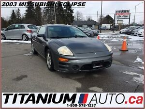 2003 Mitsubishi Eclipse RS - AS-IS ONLY - Power Windows - Power