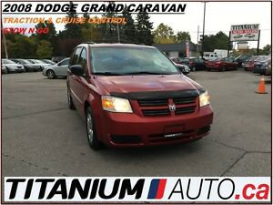 2008 Dodge Grand Caravan Stow N Go Seats+Front & Rear A/C+Tracti