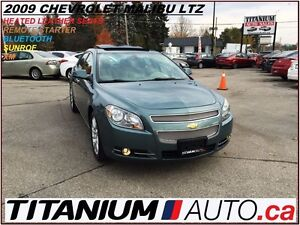 2009 Chevrolet Malibu LTZ+Sunroof+Leather Heated Seats+Remote St