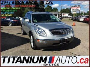 2011 Buick Enclave CXL+AWD+Camera+7 Passengers+Heated Leather Se