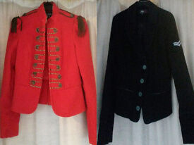 Military Style Ladies jackets, Size 10