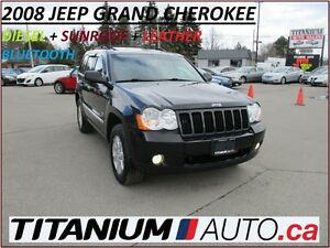 2008 Jeep Grand Cherokee Diesel+4x4+Sunroof+BlueTooth+Leather He