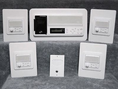 (New 4-room IntraSonic RETRO-M Home Intercom System / iPod Dock )