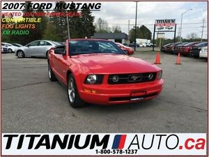 2007 Ford Mustang Convertible+Heated Leather Power Seats+Shaker