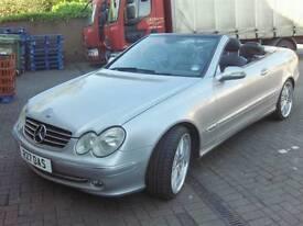 Mercedes clk320 advantgarde