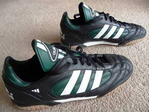 Adidas Trainers Black and Green Men's Size 9.5 (44 EU, 10 US) Drummoyne Canada Bay Area Preview