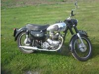 1956 Classic AJS model 30