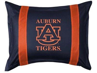 NEW AUBURN UNIVERSITY TIGERS Sidelines Jersey Standard Pillow Sham  ()