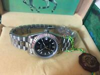 LADIES ROLEX OYSTER DATEJUST PERPETUAL Automatic Watch, Silver case