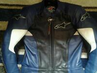 Alpinestars motorbike / motorcycle leathers