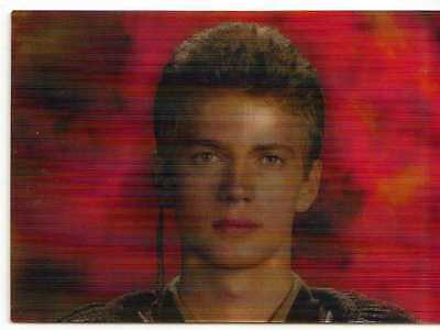 Star Wars Revenge of the Sith Lenticular Morphing Chase Card 1 of 2 from Topps