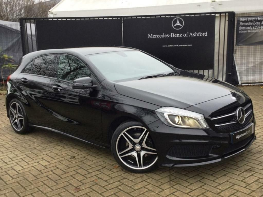 mercedes benz a class a180 cdi blueefficiency amg sport black 2014 11 22 in ashford kent. Black Bedroom Furniture Sets. Home Design Ideas