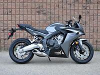 Just Arrived The All New 2014 Honda CBR650F
