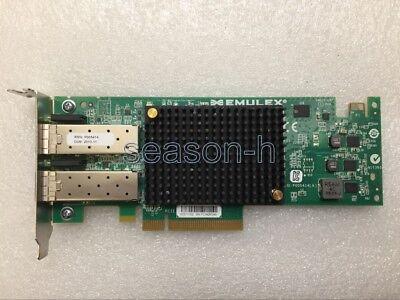 Emulex OCe11102 10 Gigabit 10GBe 10Gbit Dual Port Server Adapter PCIe x8 LP segunda mano  Embacar hacia Argentina