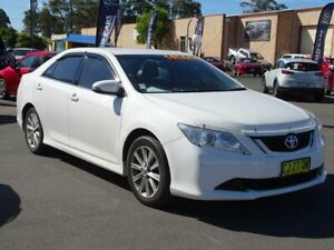 2016 Toyota Aurion GSV50R MY16 AT-X White 6 Speed Automatic Sedan South Nowra Nowra-Bomaderry Preview