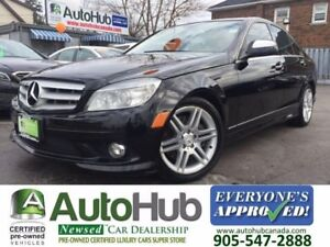 2009 Mercedes-Benz C 300 AWD-SUNROOF-LEATHER