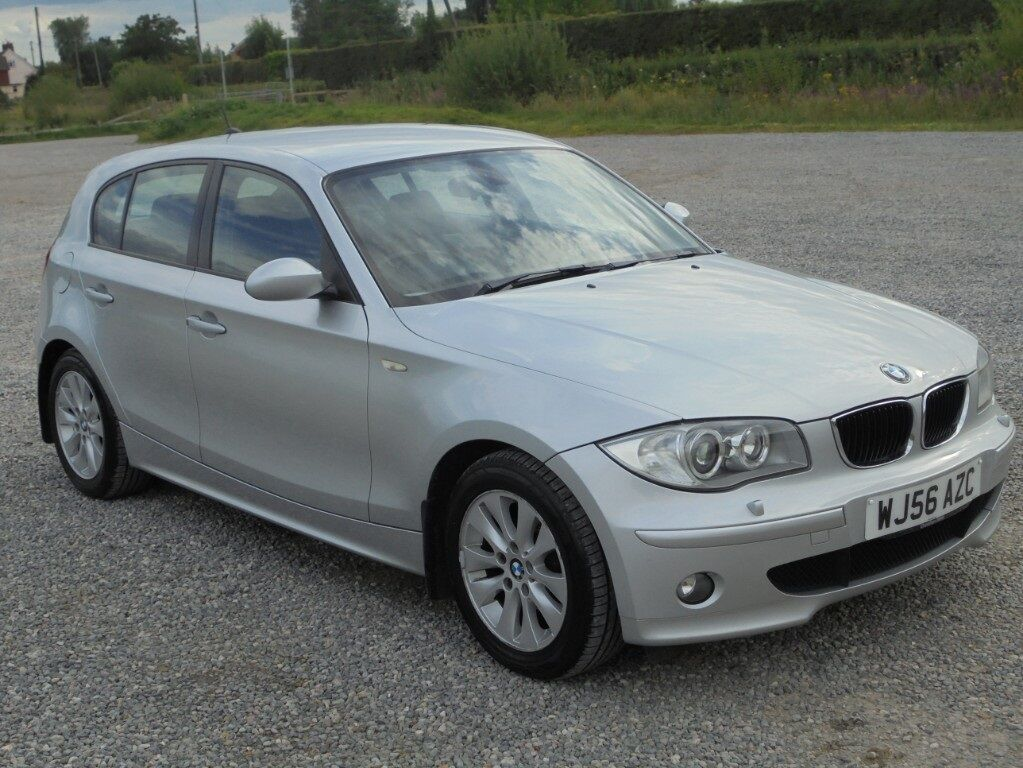 bmw 1 series 120d se 5dr aluminium silver 2006 in. Black Bedroom Furniture Sets. Home Design Ideas