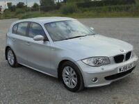 BMW 1 Series 120d SE 5dr (aluminium silver) 2006