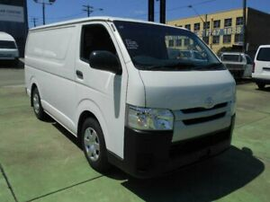 2017 Toyota HiAce KDH201R MY16 LWB White 4 Speed Automatic Van Five Dock Canada Bay Area Preview