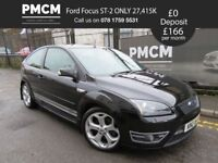 2007 Ford Focus ST-2 2.5 - ONLY 27,415 MILES - ONE OWNER - S.H - MOT 2019 type r gti vxr m3 r32
