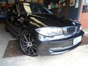 2008 BMW 118i E87 MY09 Black 6 Speed Manual Hatchback Fremantle Fremantle Area Preview