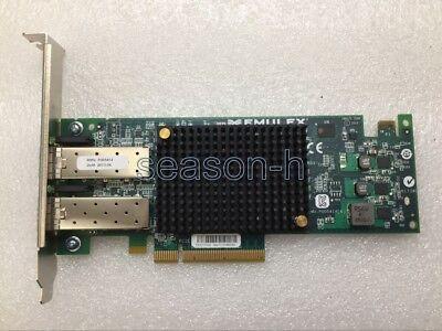 Usado, Emulex OCe11102 10 Gigabit 10GBe 10Gbit Dual Port Server Adapter PCIe x8 FP segunda mano  Embacar hacia Argentina