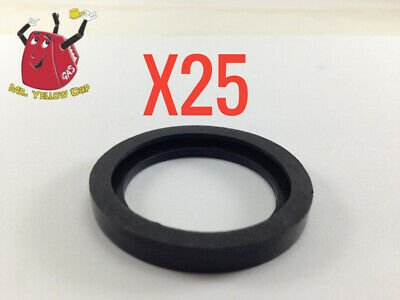 25 New Rubber Gaskets Gas Can Spout Gott Rubbermaid Blitz Wedco Scepter Eagle