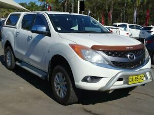 2012 Mazda BT-50 XTR (4x4) White 6 Speed Automatic Dual Cab Utility South Nowra Nowra-Bomaderry Preview