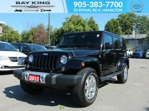 2015 Jeep WRANGLER UNLIMITED UNLIMITED SAHARA 4X4, REMOTE START,