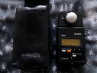 MINOLTA AUTO METER III ( Photography Light Meter)