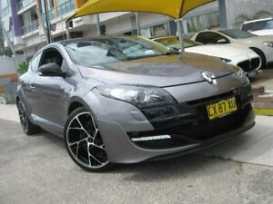 2013 Renault Megane X95 RS 265 Cup Grey 6 Speed Manual Coupe Homebush Strathfield Area Preview