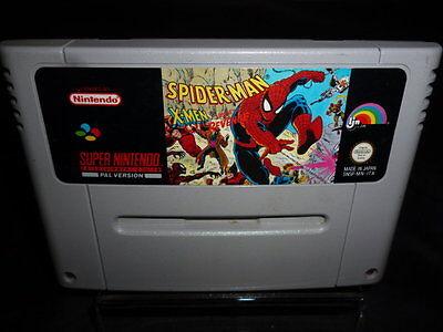 Spider Man X men Arcade Revenge - per console Super Nintendo - PAL