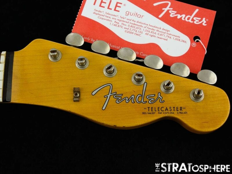 Fender USA Custom Shop 1963 Relic Telecaster NECK + TUNERS Tele Rosewood