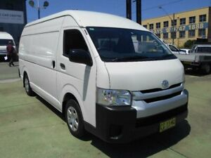 2016 Toyota HiAce KDH221R MY16 SLWB White 4 Speed Automatic Van Five Dock Canada Bay Area Preview
