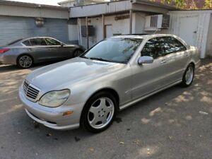 2001 Mercedes-Benz S55 AMG ***Jamais Sortie Lhiver***Comme Neuf