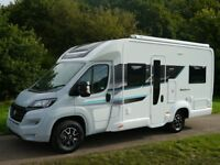 Motorhome Hire, clean and tidy van, 4 berth, ideal for families, large washroom, reasonable rates