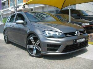 2014 Volkswagen Golf AU MY14 R Grey 6 Speed Direct Shift Hatchback Homebush Strathfield Area Preview