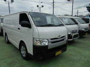 2016 Toyota HiAce KDH201R MY16 LWB White 4 Speed Automatic Van Five Dock Canada Bay Area Preview
