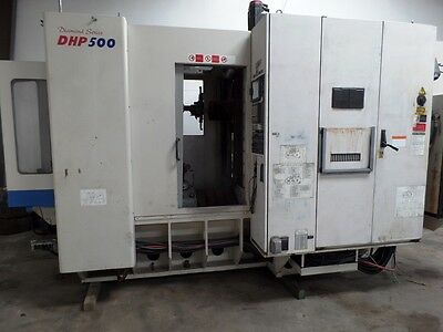 2001 Daewoo Dhp-500 Diamond Series 2 Pallets 19.7x19.7 Rotary Table Fanuc 16im