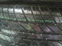 2x spare tyres for sale
