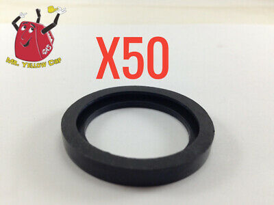 50 New Rubber Gaskets Gas Can Spout Gott Rubbermaid Blitz Wedco Scepter Eagle