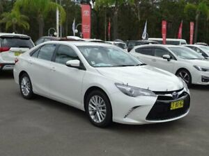 2015 Toyota Camry ASV50R Atara SL White 6 Speed Automatic Sedan South Nowra Nowra-Bomaderry Preview