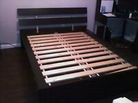 Ikea double bed, dismantled and ready for collection